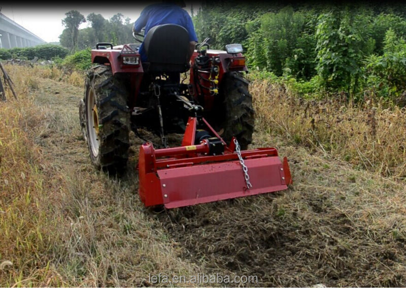 Tractor Tiller Product : Cheap rotary tractor mini tiller for europe market