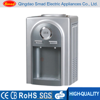 Table top direct drinking hot and cold water dispenser machine