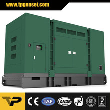 Silent type diesel generator TP550CS 400KW 500KVA 50Hz powered by Cummins engine