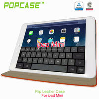 pu leather cases for tablets for ipad mini