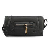 Handcee Women Black Casual Handbags with Zipper for Online offers