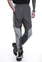 OEM detachable men's thin summer mountain climbing hiking quickdry outdoor pant