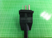 Wholesale 220v Voltage usa plug with 3 round pins for Ballasts