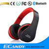 WIRED HEADPHONE V3.0+EDR class 2 Wireless headphone FM radio wholes cheap headphone amplifier bluetooth Over ear HiFi stereo