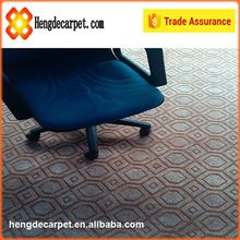 Fashion designed printed single-color or double-colors jacquard carpet for office