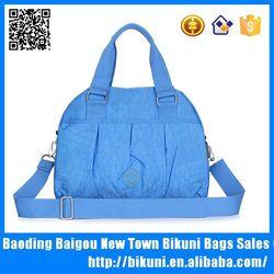 Custom designer Thailand cheap women nylon handbag tote bag hobo shoulder bag