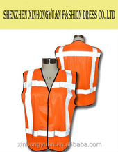 Safety vest with reflective tape for identification in dark and shadow places