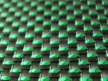 Colorful Green plain Carbon Aramid Hybrid Fabrics, Carbon Aramid Fiber Cloth