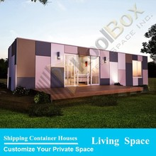 Custom made container homes 40ft steel container home kits for sale