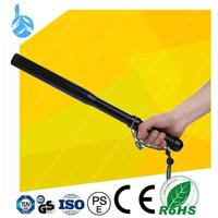 10 Years Experience Tactical Equipment Led XPE Telescopic Baton flashlight self defense weapons