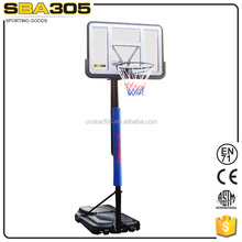 factory supply easy assembly basketball rim with stand