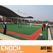 synthetic lawn for gate ball