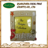 High quality 3D art resin photo frame for home decoration