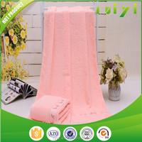 fancy jacquard super soft own design bath towel