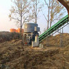 Full automatic and labour saving straw bale shredder