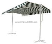 Retractable Free Standing Garden Canopy