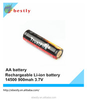 Hot Sale 900mah Li-ion 1.5v AA rechargeable Battery Made In China From Bestly Battery 1.5v aa ni-mh rechargeable battery