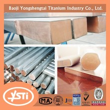 Titanium copper flat bar rod best price