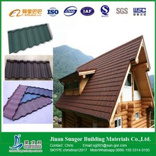 Zinc Galvanized Roof Sheet Stone Coated Metal Roof Tile Price