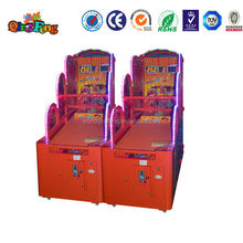 Qingfeng hot sale coin operated basketball game indoor electronic simulator basketball game machine