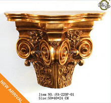FA-220P-01 Leading Antique gold wall panel for decor