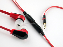 Promotional earphone colorful earphone with mic for iPhone 5