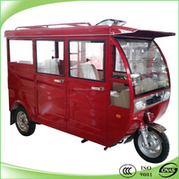 2015 new modle chinese passengers tricycle with cng & engine