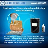 artificial stone/rock silicone rubber rtv, artificial decorative stone silicone,mould making / casting silicone rubber liquid