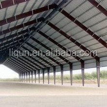 2015 china High quality and low budget steel structure warehouse