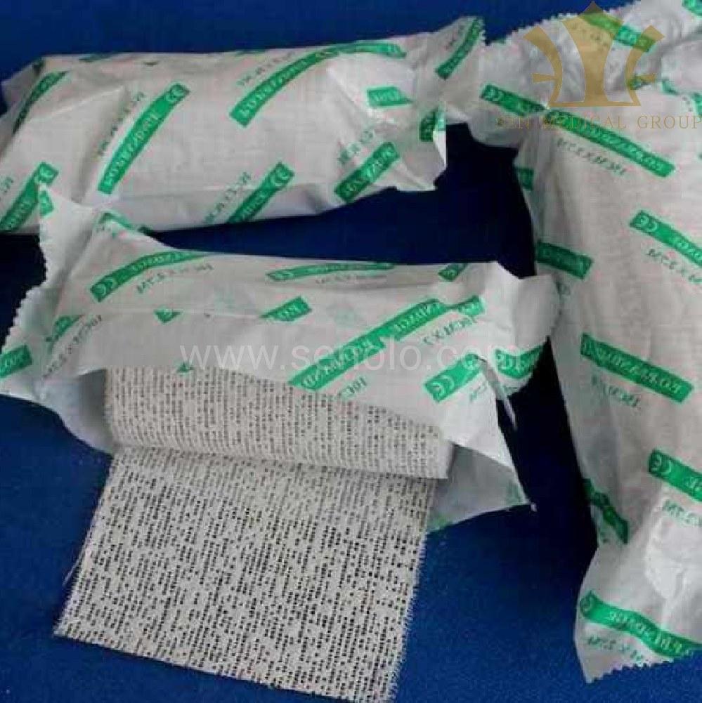 Gypsum Bandage in Medicine 85
