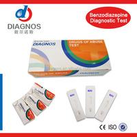 Diagnostic urine drug test kit/Benzodiazepine(BZO)/DOA BZO drug test kit/China