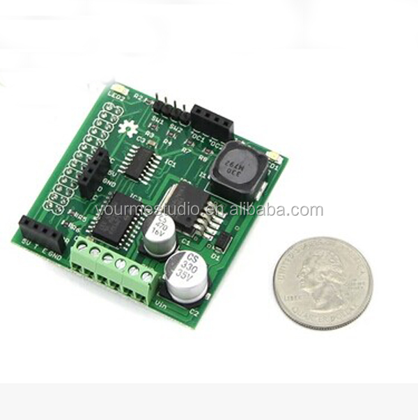 Raspirobot board v2 raspberry pi dc motor controller for Raspberry pi motor speed control