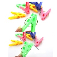 Cheaper Plastic clothes peg hanger and clip clothes hangers