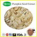 Soluble dans l'eau extrait de graines de citrouille/extrait de cucurbita pepo semences/échantillon gratuit de graines de citrouille en poudre