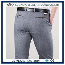 Ajustado de los pantalones nueva men'scasual formal rectas vestir