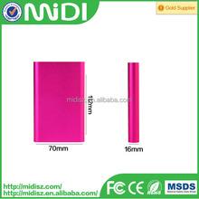 Famous Brand USB Universal External Cell Phone Portable Mobile Power Bank 10000mah
