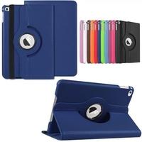 360 Rotating Folio Stand Smart Leather Case For Apple iPad Mini 4