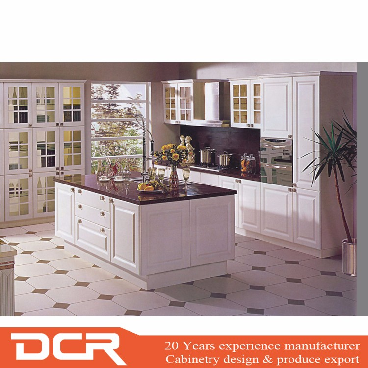 Genial Custom Modern Italian Style White PVC ,CNC Kitchen Cabinets Pantry For ...