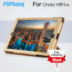 J Tablet Leather Case For Onda V891w Leather Case Mobile Tablet Protective Leather Case Flip Cover With Stand Free Shipping