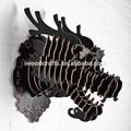 Creativo de madera cabeza de dragón tallado, la cabeza de los animales y la artesanía