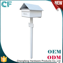 China Market Die Casting Galvanized American Style Mailbox Letterbox