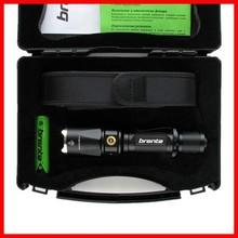 Tactical led flashlight aluminum military rechargeable flashlight