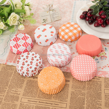 Manufacturer supply PET disposable paper cake cups /baking cup /muffin cup