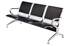 hospital general use infusion stainless steel 3-seater waiting chair/hospital waiting chair CY-W03A