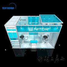 Portátil justo stand feria soporte stand de diseño y fabricación para feria en China