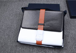 2015 portable bussiness style leather case for ipad, OEM case for ipad
