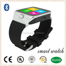 2015 Manufacture Bluetooth Watch For iPhone 6/Android Samrtphones smart watch bluetooth
