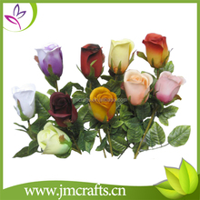 Long stem single head wholesale artificial rose flower