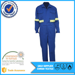 Wholesale EN11612 100% Cotton Safety Functional Mining Workwear Fire Retardant Coverall