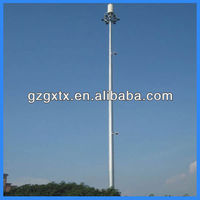 GMS mobile telecom antenna tower mast ,antenna tower monopole